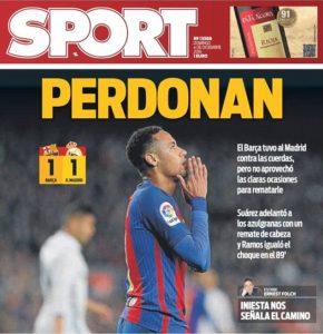 Surat Kabar Sport