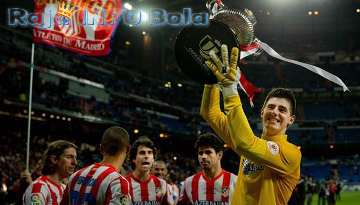 hati courtois milik madrid
