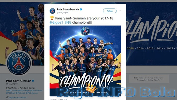 Kemenangan Paris Saint Germain