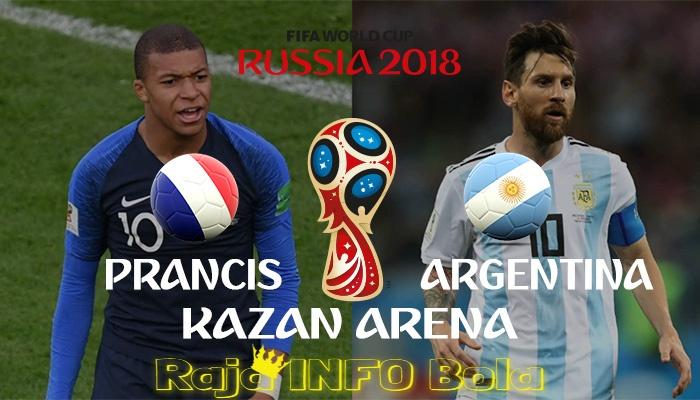 Mampukah Prancis Menghentikan Argentina