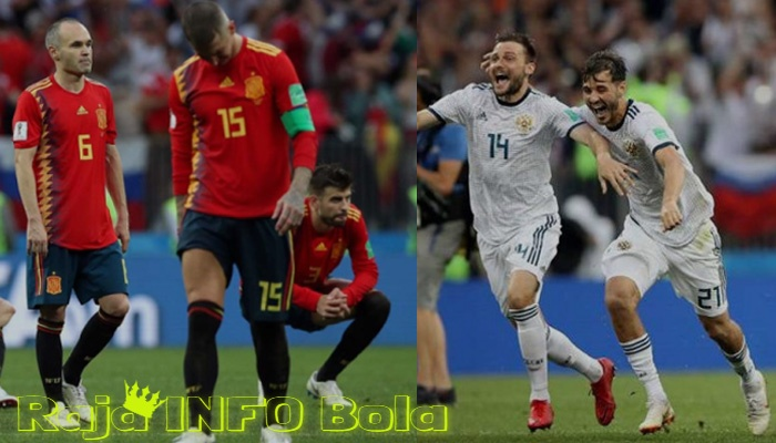 Rekor Spanyol sepanjang laga Piala Dunia