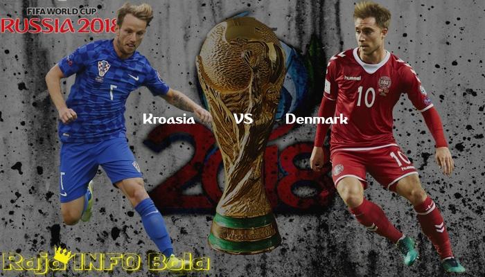 Spanyol VS Rusia dan Kroasia VS Denmark